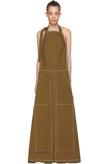 Vetements - Beige Carhartt Edition Apron Dress