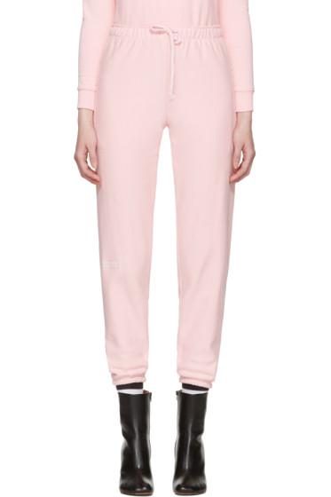 Vetements - Pink Champion Edition Knee Shape Lounge Pants