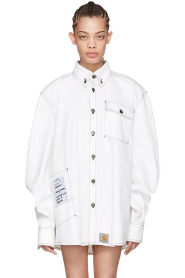 Vetements - White Carhartt Edition Workwear Shirt