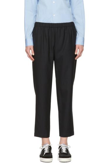 Comme des Garçons Comme des Garçons - Navy Pinstripe Trousers
