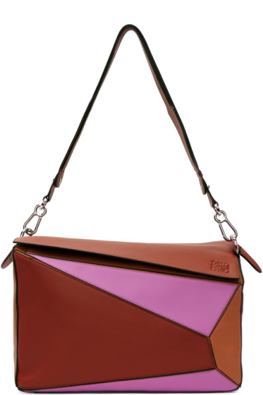Loewe - Tricolor XL Puzzle Bag