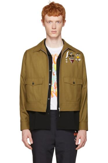 Toga Virilis - Khaki Wool Jacket