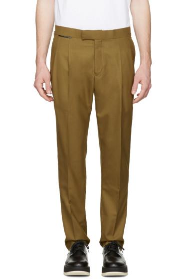 Toga Virilis - Khaki Wool Trousers