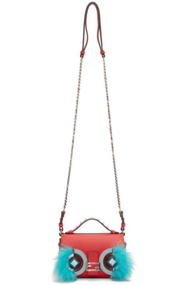 Fendi - Multicolor Hypnoteyes Double Micro Baguette Bag