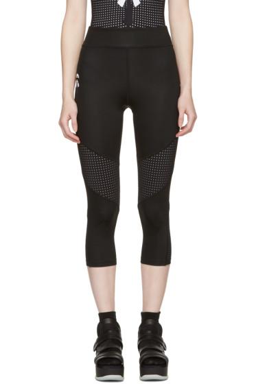 Fendi - Black Perforated Karlito Yoga Leggings