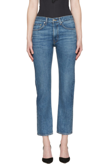 Brock Collection - Indigo Wright Jeans