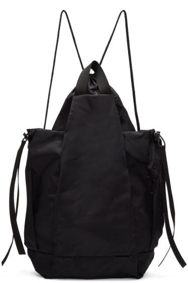 Satisfy - Black Bombardier Gym Bag
