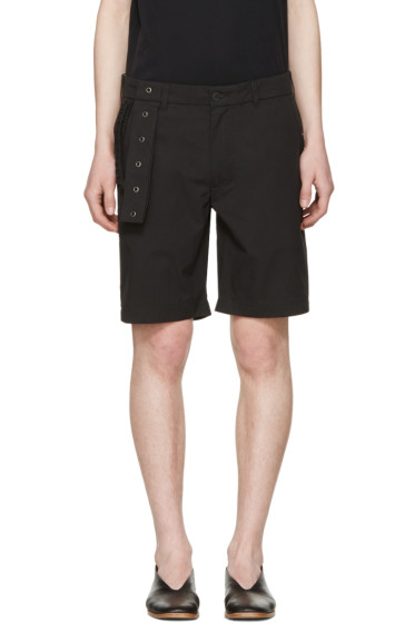 Craig Green - Black Slim Shorts
