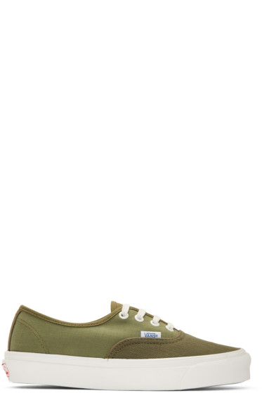 Vans - Green OG Authentic LX Sneakers