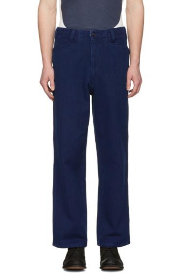 Blue Blue Japan - Indigo Sashiko Engineer Jeans