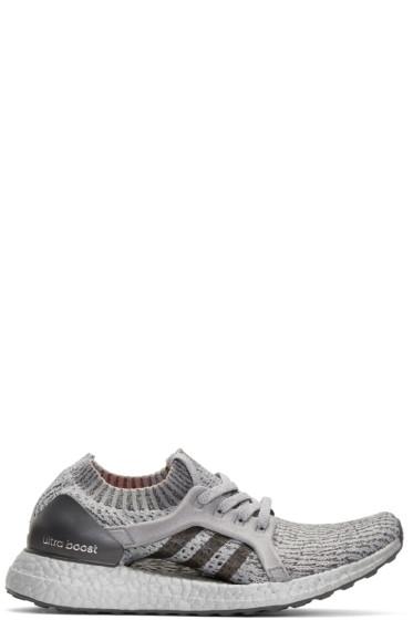 adidas Originals - Grey UltraBOOST X LTD Slip-On Sneakers