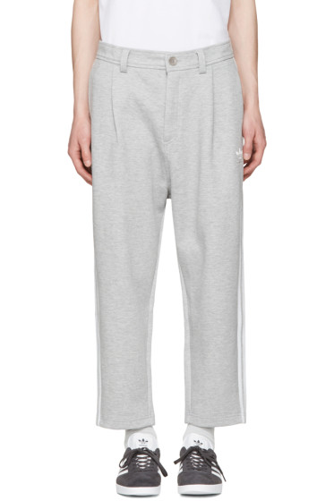 adidas Originals - Grey NYC 7/8 Lounge Pants