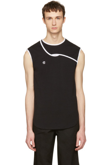 Telfar - Black & White Simplex Tank Top