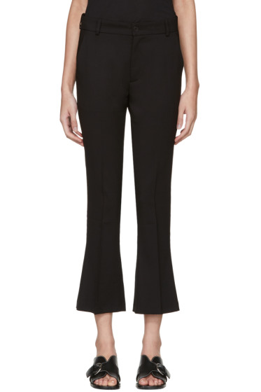 Totême - Black Vichy Trousers