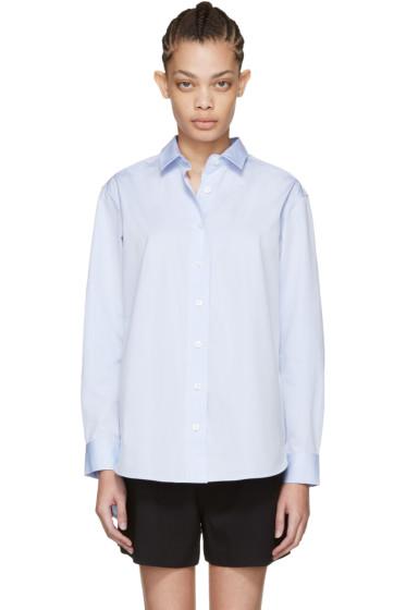 Totême - Blue Capri Shirt