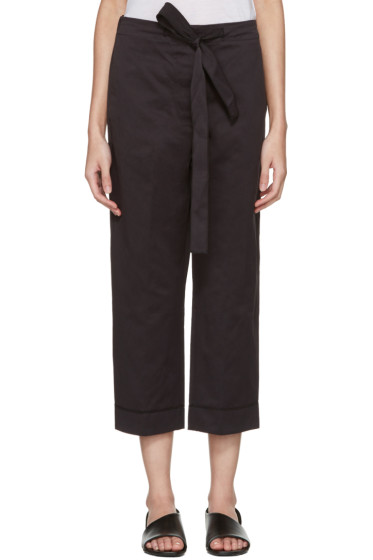 Sara Lanzi - Black Satin Trousers