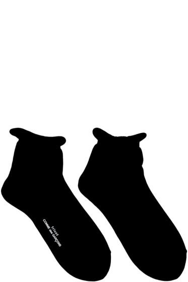 Tricot Comme des Garçons - Black Short Socks