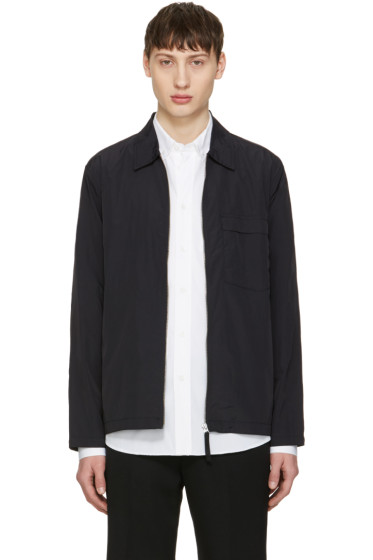 Our Legacy - Navy Nylon Tech Blouson Jacket