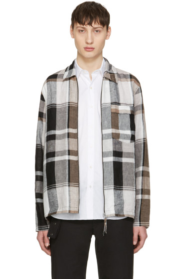 Our Legacy -  Multicolor Check Tech Jacket