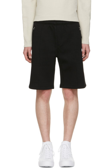 Our Legacy - Black Scuba Track Shorts