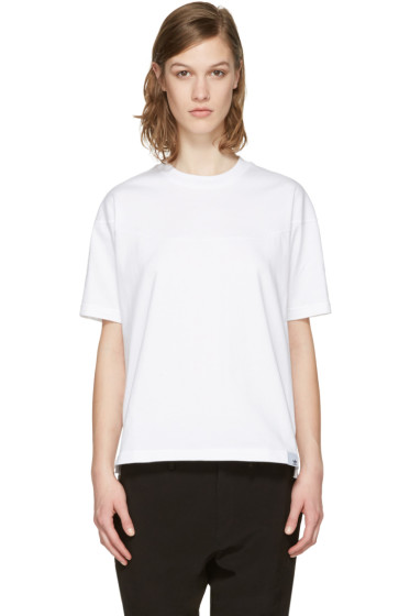 adidas Originals XBYO - White Panelled T-Shirt