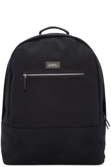 Saturdays NYC - Black Hanes Backpack