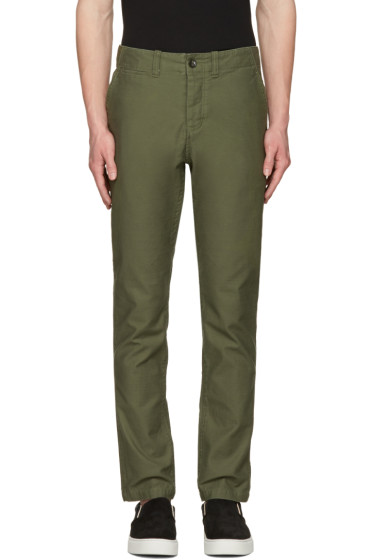 Saturdays NYC - Green Field Trousers