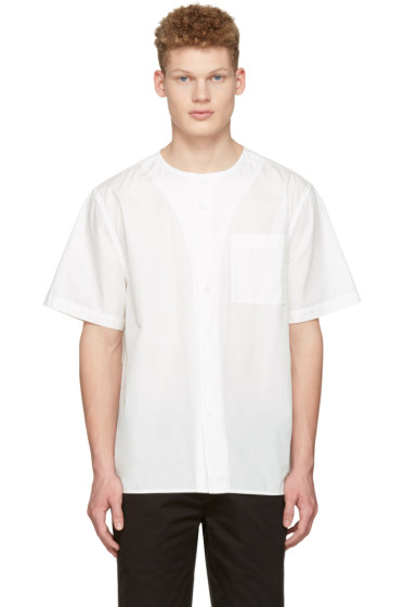 Saturdays NYC - White Pontus Shirt