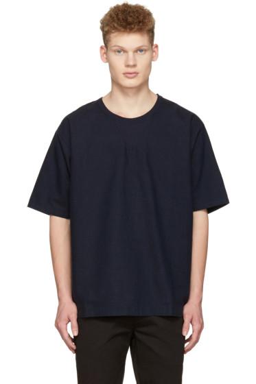 Saturdays NYC - Navy Elliot T-Shirt