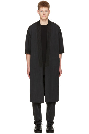 Abasi Rosborough - Grey Arc Noragi Coat