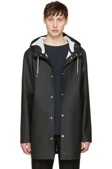 Stutterheim - Black Stockholm Raincoat