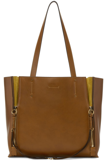 Chloé - Brown Medium Milo Tote Bag
