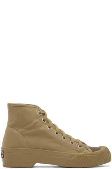Visvim - Khaki Kiefer P.E. High-Top Sneakers