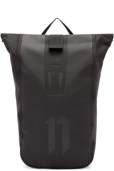 11 by Boris Bidjan Saberi - Black Roll-Top Velocity Backpack