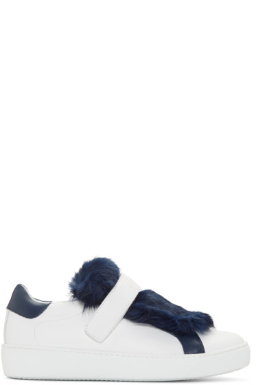 Moncler - White Lucie Sneakers