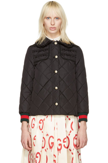 Gucci - Black Caban Coat