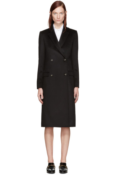 Brock Collection - Black Cashmere Caroline Coat