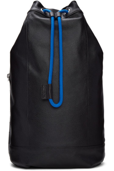 Diesel - Black L-Signatured Backpack