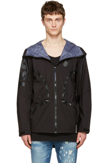 Diesel - Black X Collection Mo-J-Ty Hooded Jacket