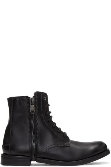 Diesel - Black D-Zipphim Boots