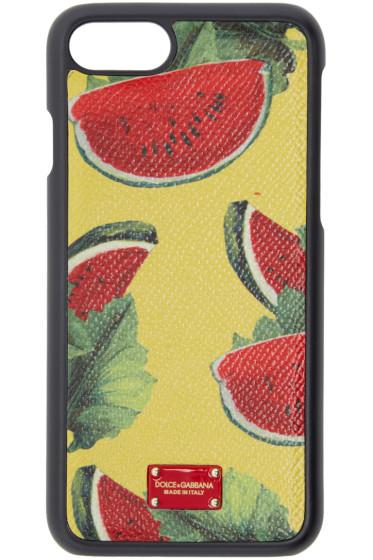 Dolce & Gabbana - マルチカラー ウォーターメロン iPhone 7 ケース