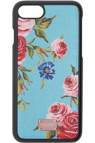 Dolce & Gabbana - Blue Rose iPhone 7 Case