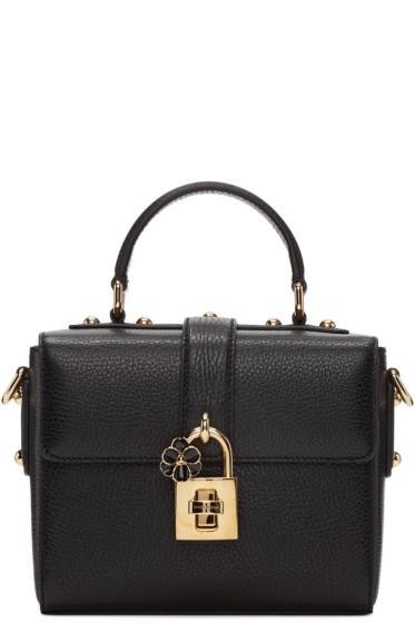 Dolce & Gabbana - Black Small 'Dolce Soft' Bag
