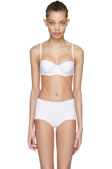 Dolce & Gabbana - White Wired Bikini Top