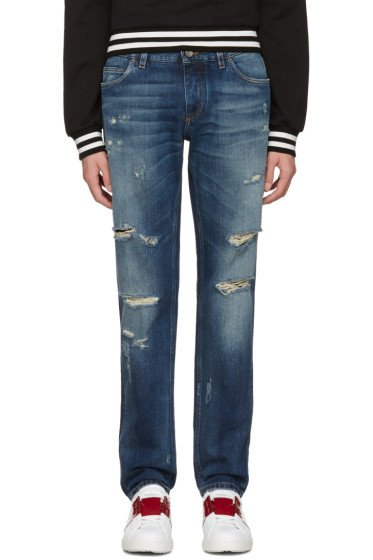 Dolce & Gabbana - Blue Gold Fit Jeans