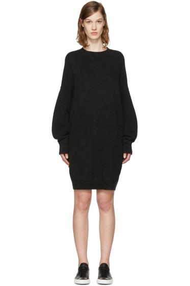 R13 - Black Oversized Grunge Dress