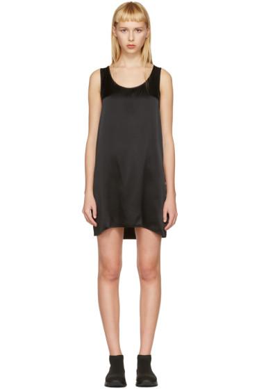 R13 - Black Mini Tank Dress