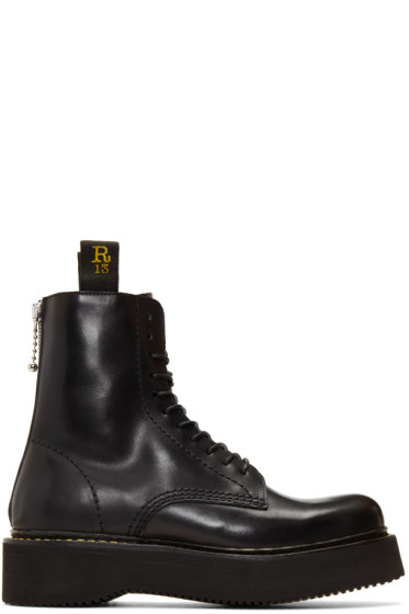 R13 - Black Military Boots