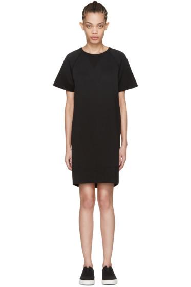 Rag & Bone - Black Washed Terry Dress