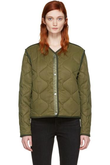 Rag & Bone - Green Short Forest Liner Jacket